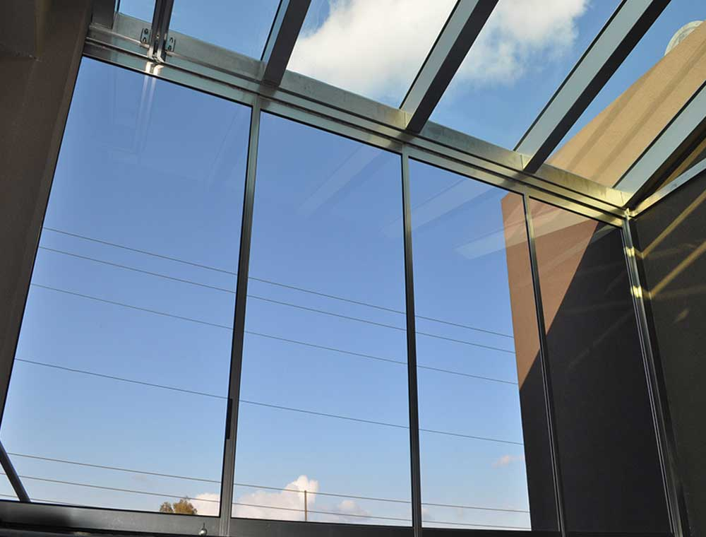 Gialines Orofes Glass Roof